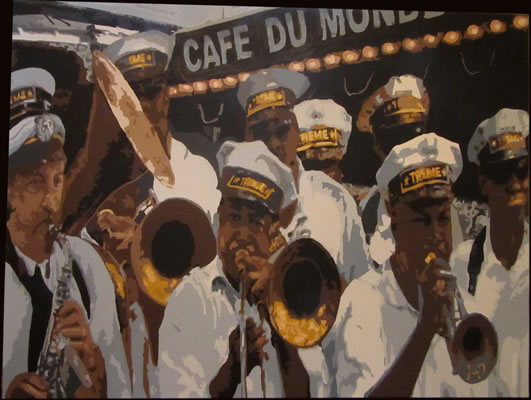 Second Line Cafe du Monde