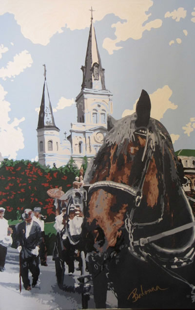 The Funeral at St. Louis Cathedral