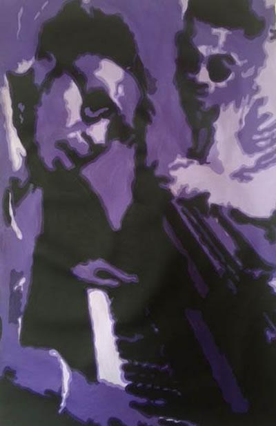 Bb King Pop Art Painting